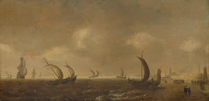 RIJKS: attributed to Willem van Diest: painting 1660