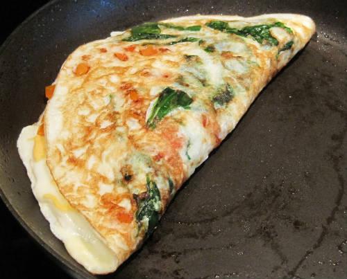 Tomato Egg White Omelette Recept | Yummly