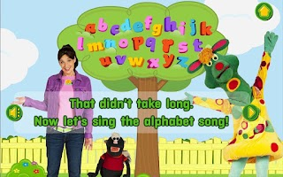 Screenshot of TVOKids The Letter Tree