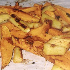 Parsnip & Sweet Potatoes Roasted