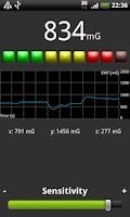 Screenshot of EMF Meter