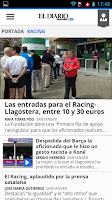 Screenshot of El Diario Montañés