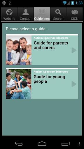SIGN Autism Patient Guide