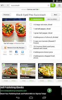 Screenshot of Vegan Recipes and Nutrition