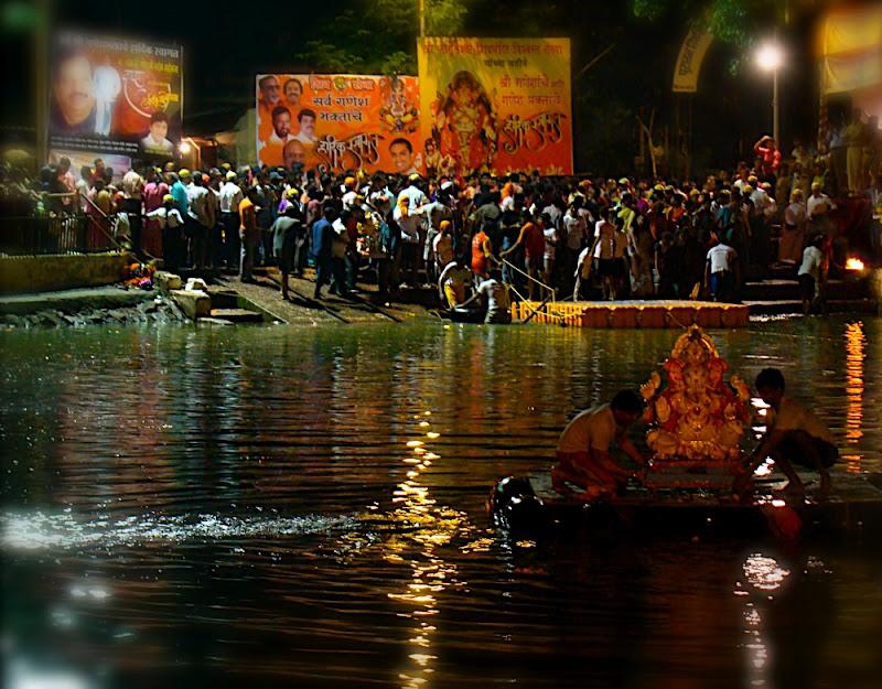 Ganesh Visarjan Utsav in Mumbai Tarun Chandel