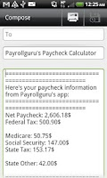 Screenshot of Paycheck Free