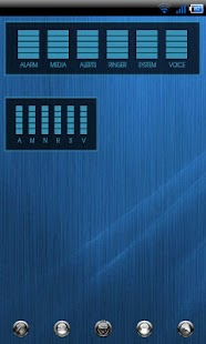 ICS Audio Manager Skin - screenshot