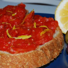 Spanish Tomato and Garlic Bread