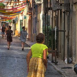 by Eduardo Magalhães - City,  Street & Park  Street Scenes