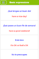 Screenshot of Learn Spanish