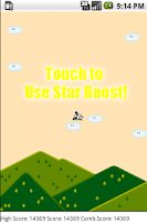 Screenshot of Throw a Panda Starboost FullAd