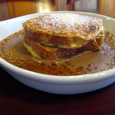 Clauser's Bed & Breakfast Creme Brulee French Toast
