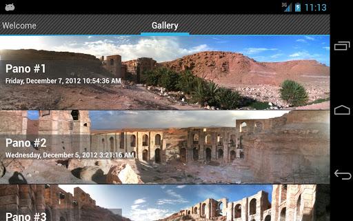 PanoStitch Panorama Picture HD - screenshot
