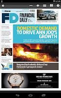 Screenshot of The Edge Financial Daily