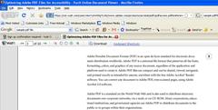 Inline View of PDF with Nodobe Viewer