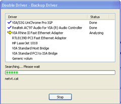 Backup and Restore Drivers With Double Driver:Freeware