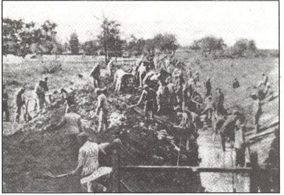 lavoro nel campo di concentramento