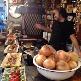 Amazing Food Vendor in Barcelona Market by Rose Hawksford - City,  Street & Park  Markets & Shops