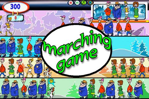 Marching Game