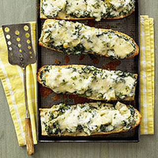 Spinach-Artichoke French Bread Pizza