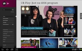 Screenshot of UR Play