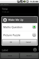 Screenshot of Thanks I woke Up Alarm