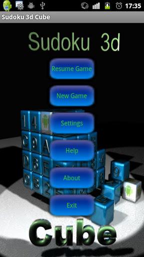Sudoku 3d Cube Full