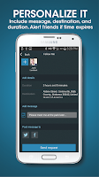 Screenshot of React Mobile – Safety App