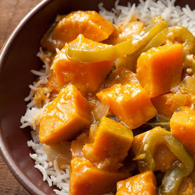 Thai Red Curry with Kabocha Squash