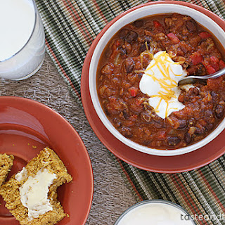 Pumpkin Chili {Slow Cooker}
