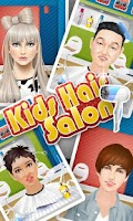 Screenshot of Kids Hair Salon - kids games