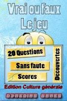 Screenshot of Vrai Faux culture générale LT