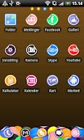 Screenshot of Sticker Go Launcher EX Theme