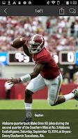 Screenshot of AL.com: Alabama Football News