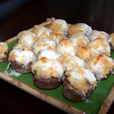 Crab or Shrimp Stuffed Mushrooms