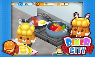 Screenshot of Diner City
