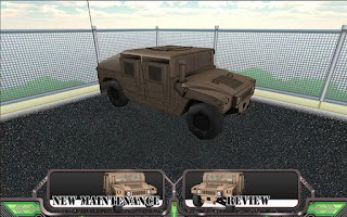 Screenshot of Humvee PMCS