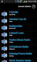 Screenshot of FM Radio