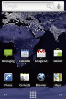 Screenshot of Night Earth Live Wallpaper