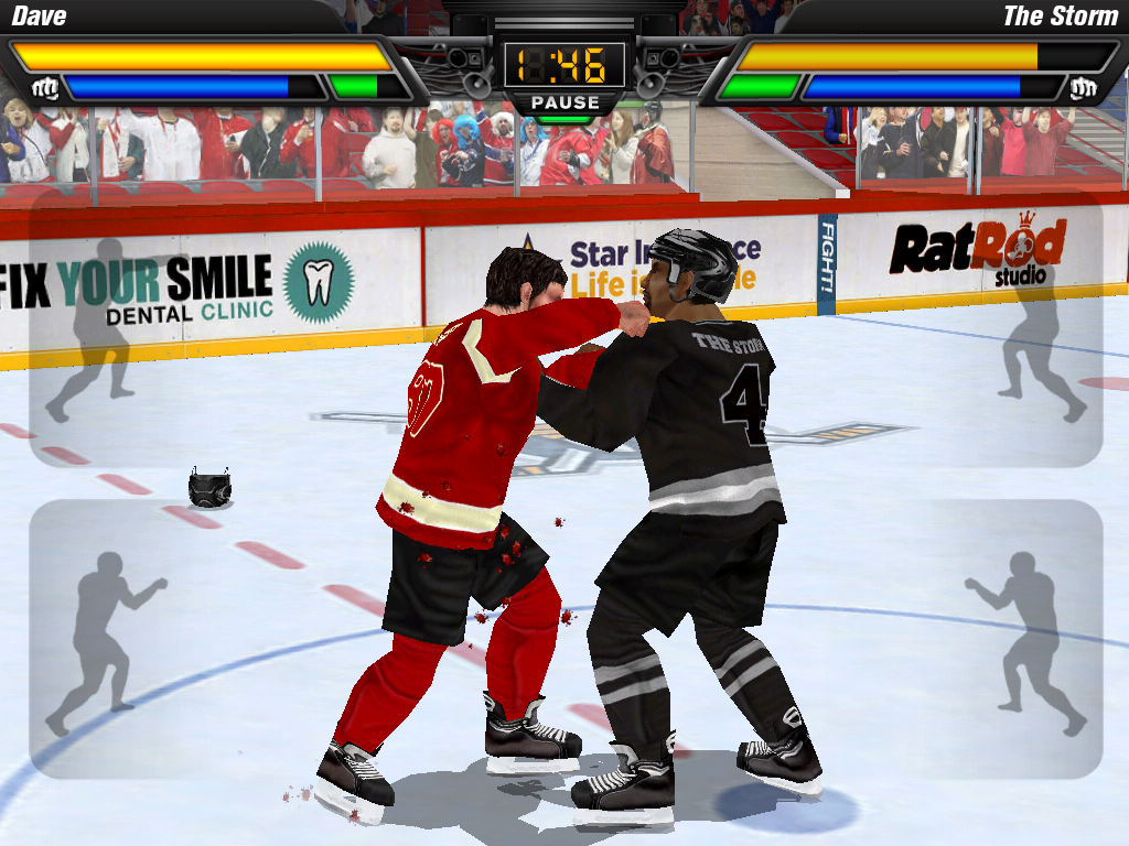 Hockey Fight Pro Screenshot 7