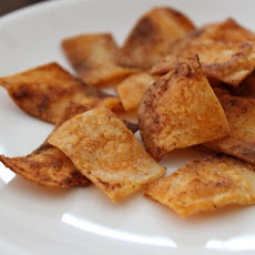 Gluten-Free Tortilla 'Crackers'