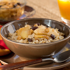 Warm Fruit Topped Oatmeal