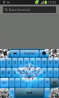 Screenshot of Crystal Keyboard