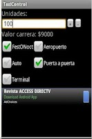 Screenshot of Taxi Control Bogota