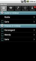 Screenshot of RIFT Mobile