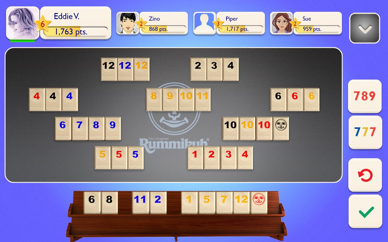 Rummikub Screenshot 1