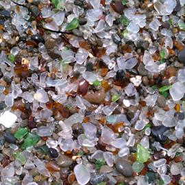 Glass of the Sea by Jennifer Watkins Odom - Nature Up Close Rock & Stone