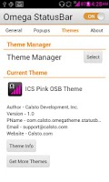 Screenshot of ICS Pink OSB Theme