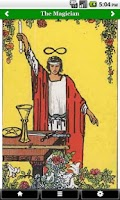 Screenshot of Pictorial Tarot FREE