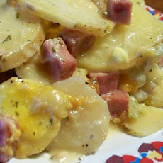 Crock Pot Potatoes Au Gratin